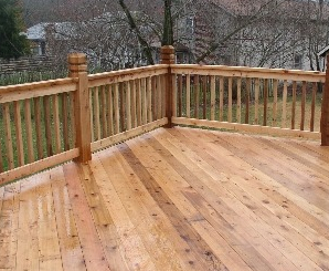 Lockport Deck Installation